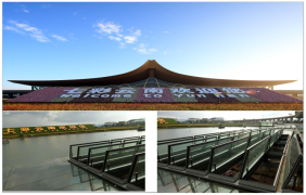 昆明市轨道交通6号线机场中心站 设施改造项目(一字型排烟天窗)