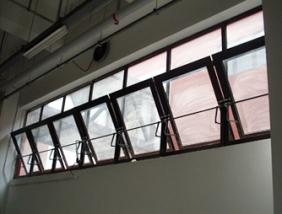 消防排烟窗的控制系统是由哪几部分组成