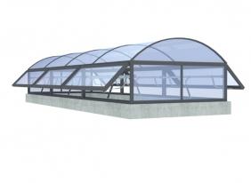 威海圆拱式侧开型
